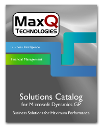 MaxQ Product Catalogs