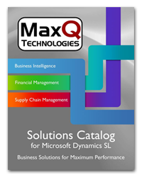 MaxQ Product Catalogs