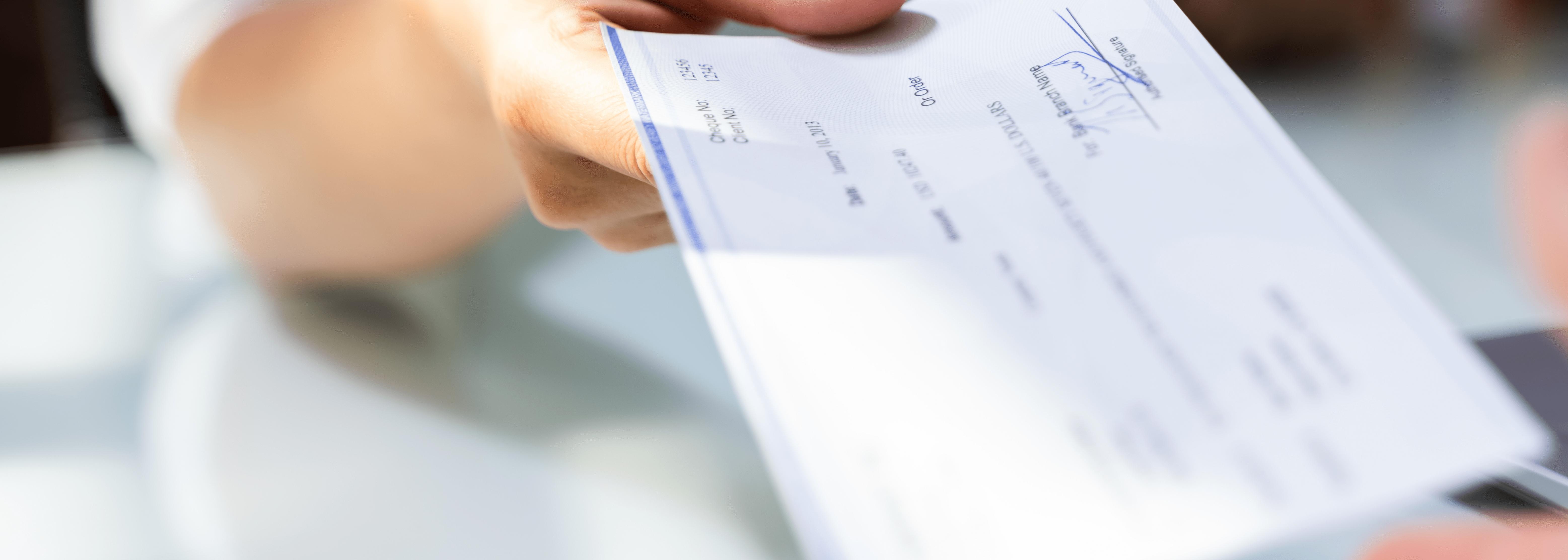 Signed Check using system like AP/PR Laser Checks