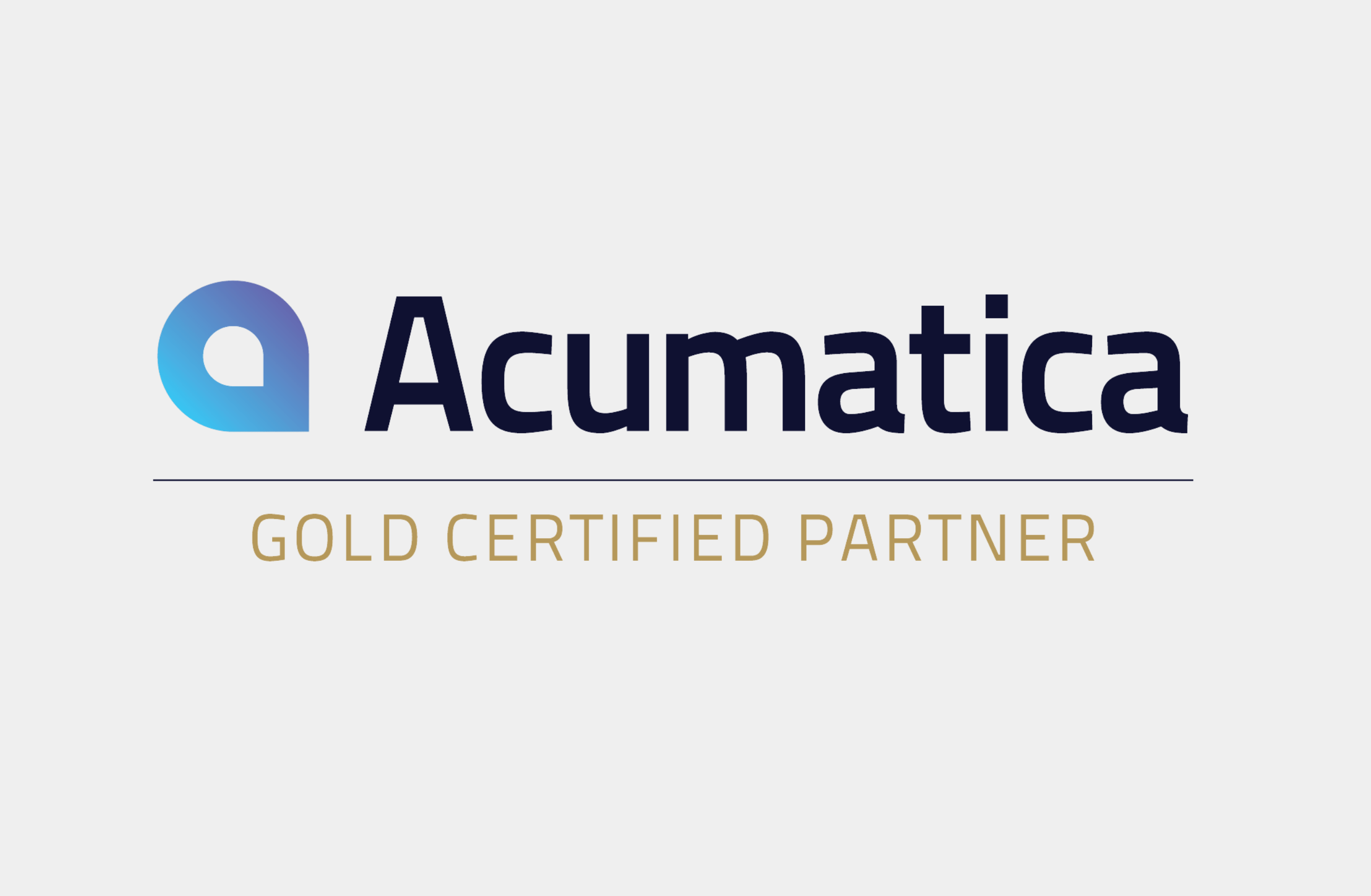 MaxQ Awarded the Acumatica Gold Partner Certificate