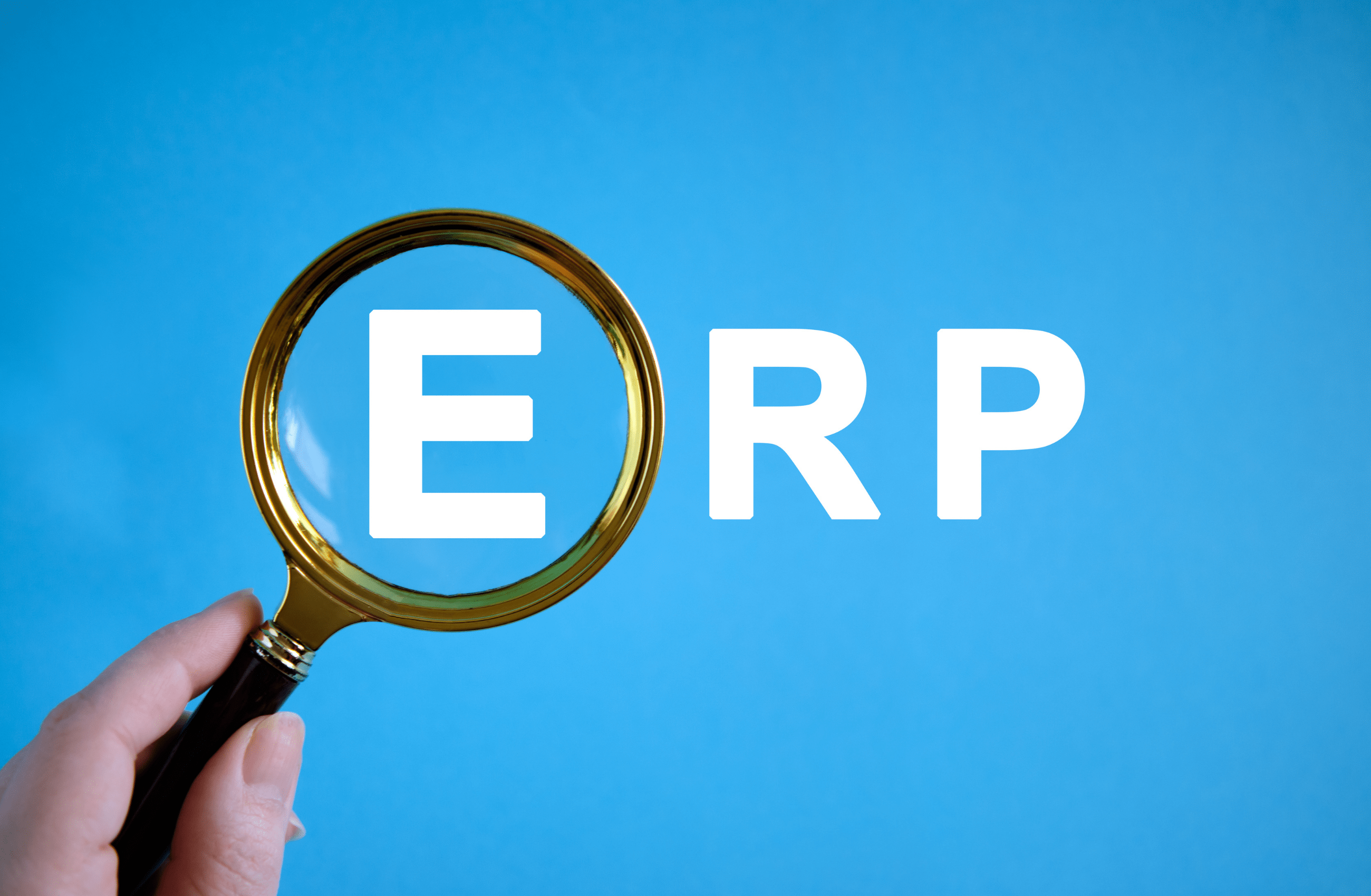 For ERP, It's really not about the cloud!
