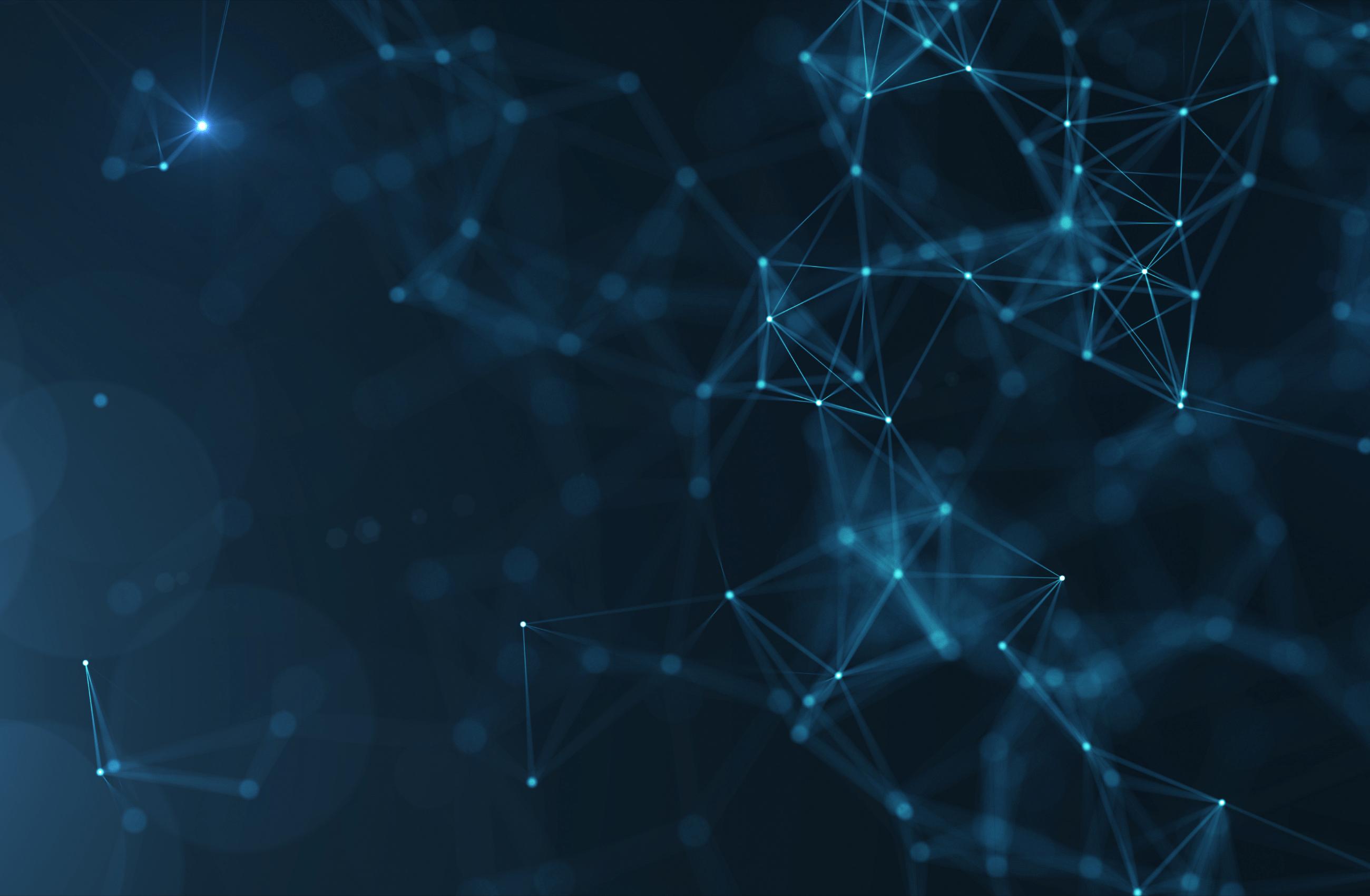 Blue Technology Pattern