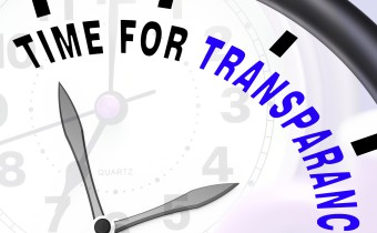 Time For Transparency Message Shows Ethics And Fairness